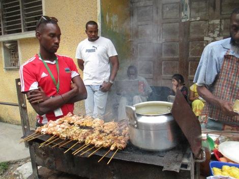 Food in Zanzibar