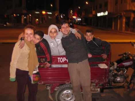 Hitchhiking in Fez